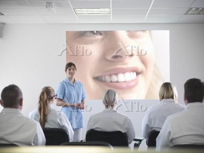 歯科医の授業
