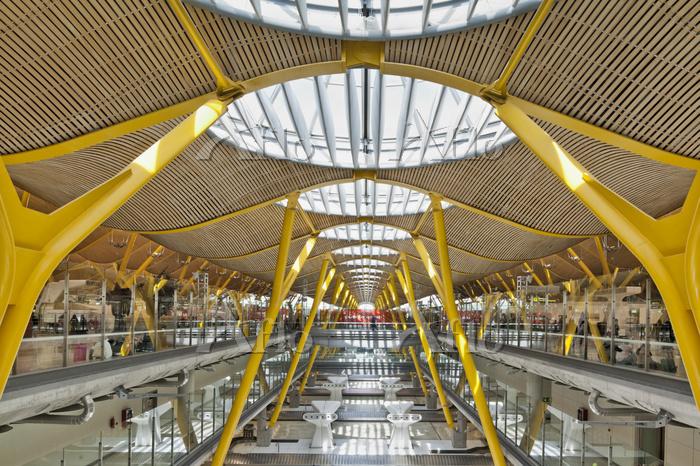 スペイン バラハス国際空港
