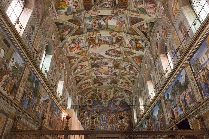 ヴァチカン美術館 システィーナ礼拝堂