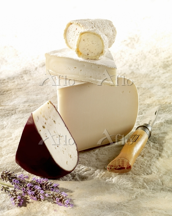 Various types of goats cheese ・・・