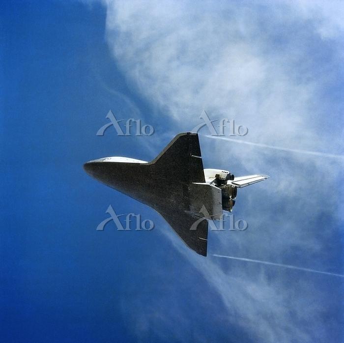 Space Shuttle Columbia landing・・・