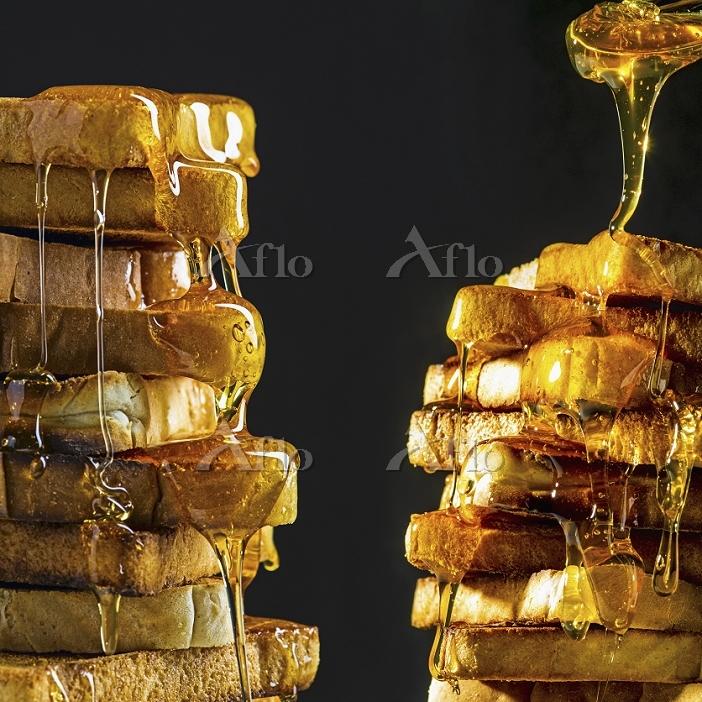 蜂蜜とパン
