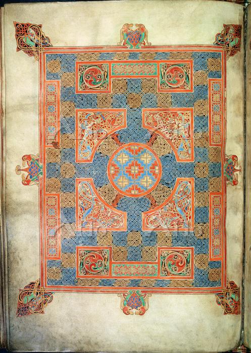 マルコ福音書のカーペット頁