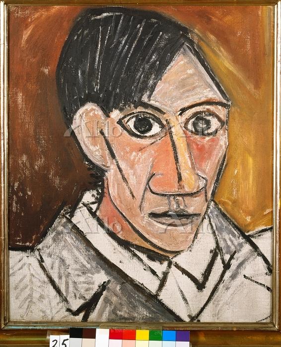 パブロ・ピカソ 「自画像 1907」