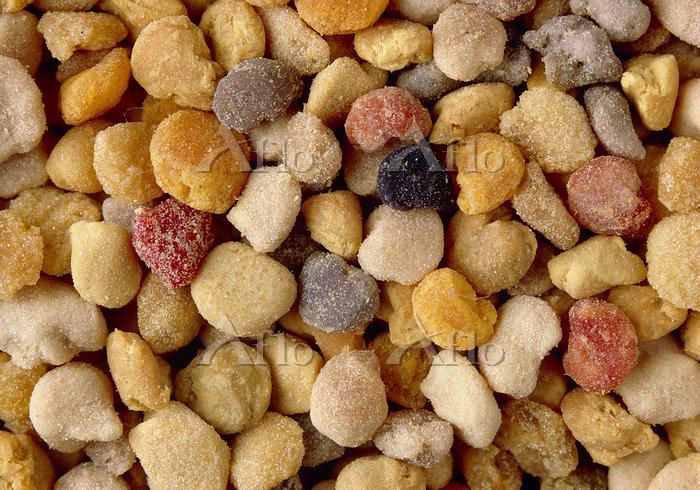 Harvested pollen. Balls of pol・・・