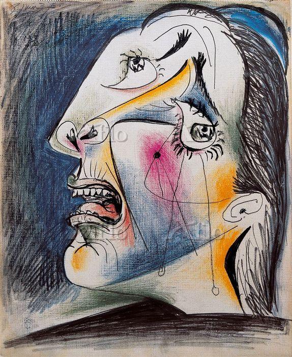 パブロ・ピカソ 「泣く女」