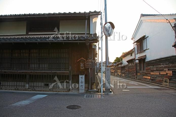 滋賀県 長浜 北国街道(下船町)の街