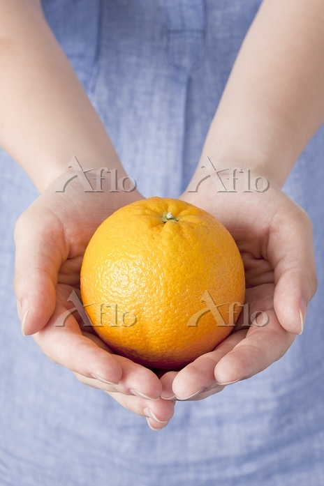 Orange, Fruit,