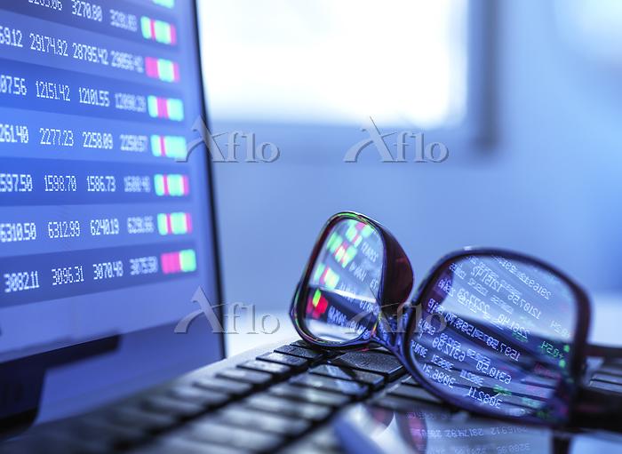 Stock market data reflecting i・・・