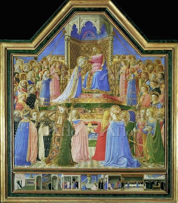 フラ・アンジェリコ「聖母戴冠」
