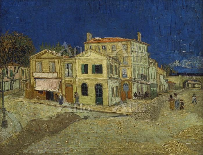 ゴッホ「黄色い家(アルルのゴッホの家、ラマルティーヌ広場)」
