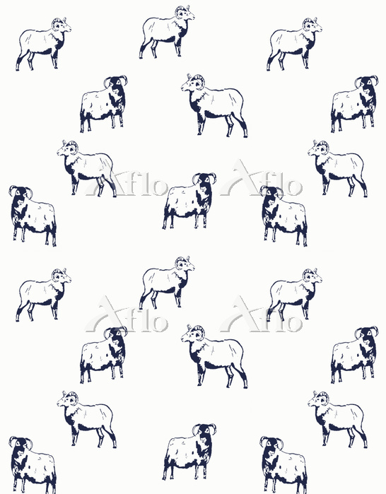Goats, 2012, (ink on paper)