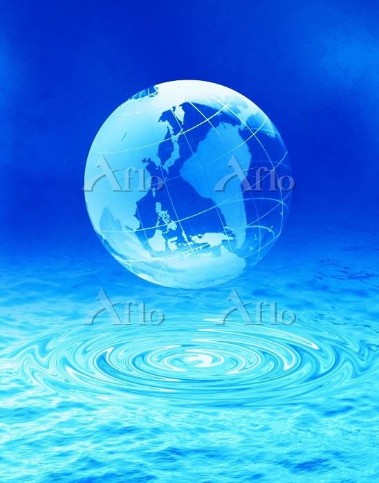 渦と透明地球