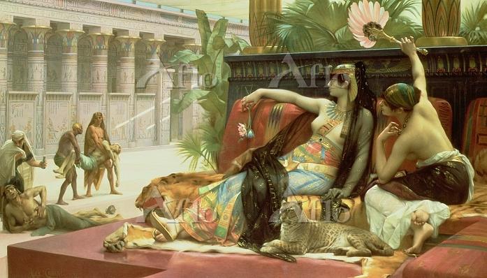 アレクサンドル・カバネル 「クレオパトラ7世」