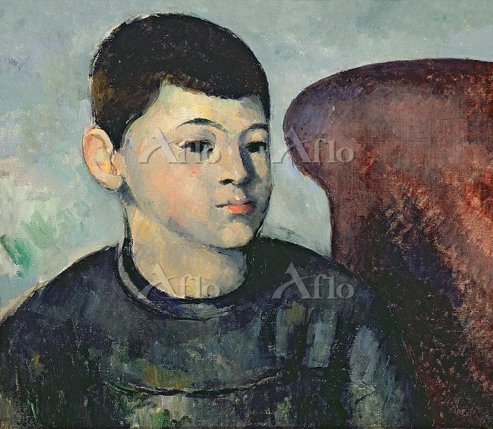 セザンヌ 「芸術家の息子の肖像」