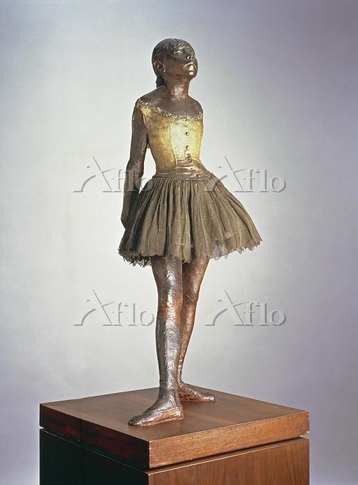 ドガ  「14歳の小さな踊り子」