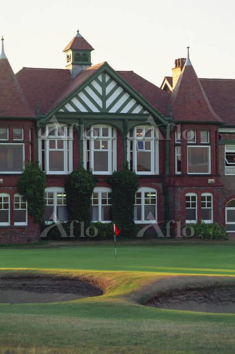 ロイヤルリザム&セントアンズ・ゴルフクラブ 18番ホール、4・・・