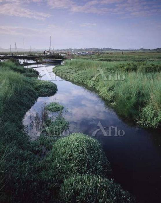 A view across the Blakeney Poi・・・