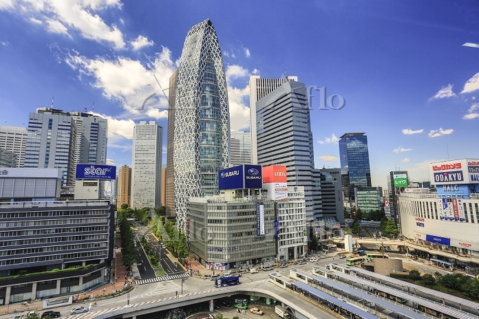 東京都 新宿の高層ビル群