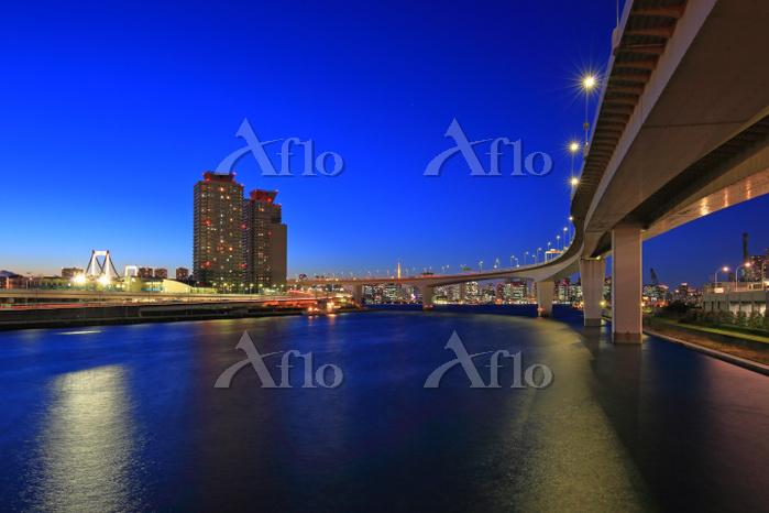 東京都 有明より高速台場線