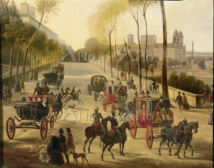 Italy, 18th century. Rome, car・・・