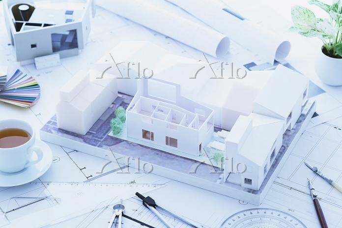 住宅の模型