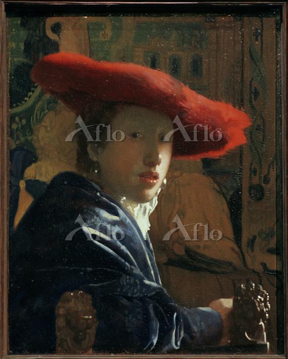 フェルメール 「赤い帽子の女」