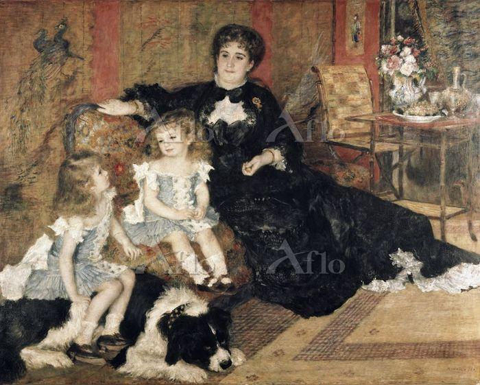 ルノワール  「シャルパンティエ夫人とその子供たち」