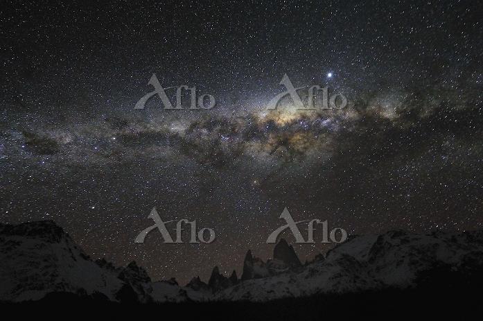 アルゼンチン フィッツロイ 星空
