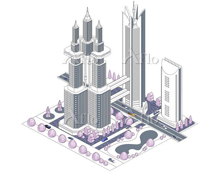 ブロックタウン未来都市 B-1