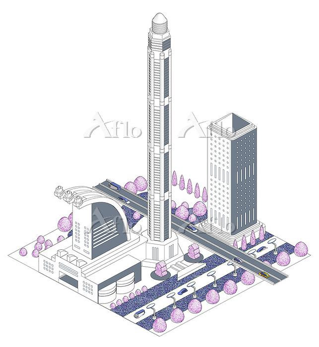 ブロックタウン未来都市 B-3