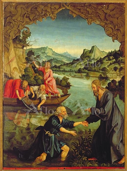 ハンス・ジュス・フォン・クルムバッハ 「聖ペテロの召命」
