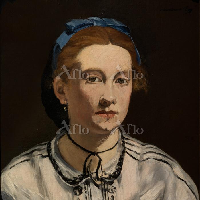 マネ「ヴィクトリーヌ・ムーランの肖像」