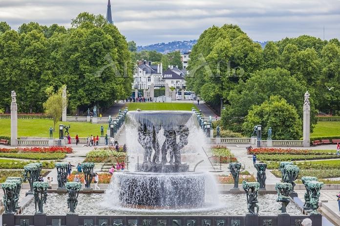 ノルウェー オスロ フログネル公園