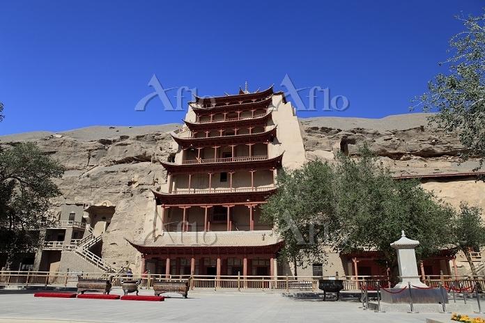 中国 莫高窟の北大仏殿