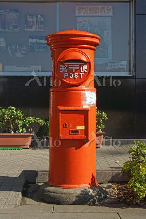 郵便ポスト 上野公園 台東区 東京都