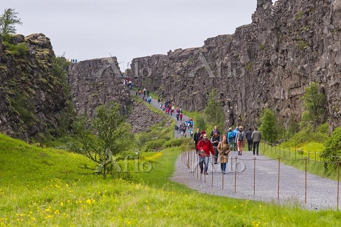 アイスランド 地球の割れ目ギャウ