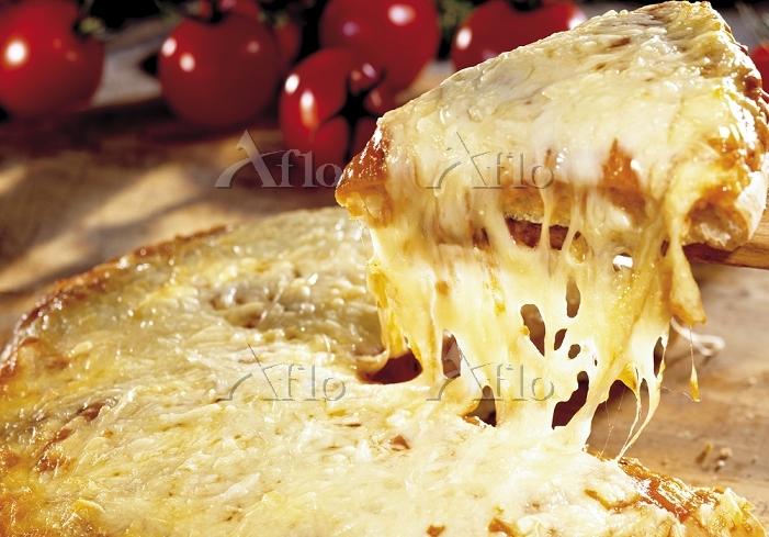 アメリカンなチーズピザ