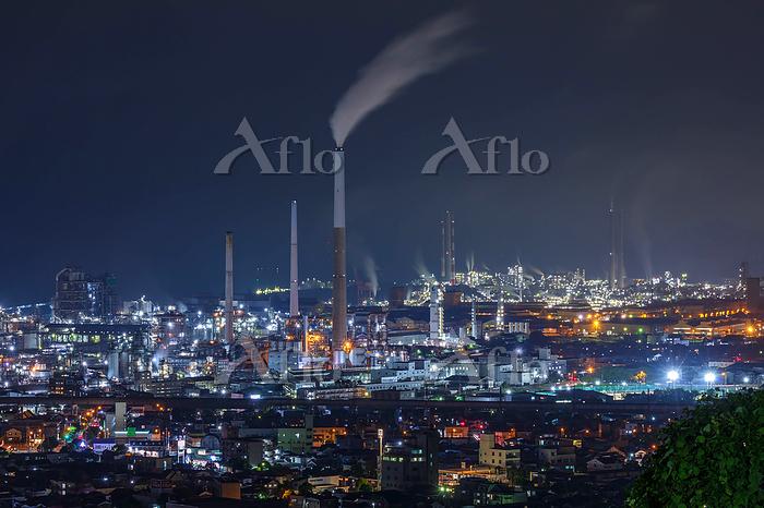 山口県 工場夜景