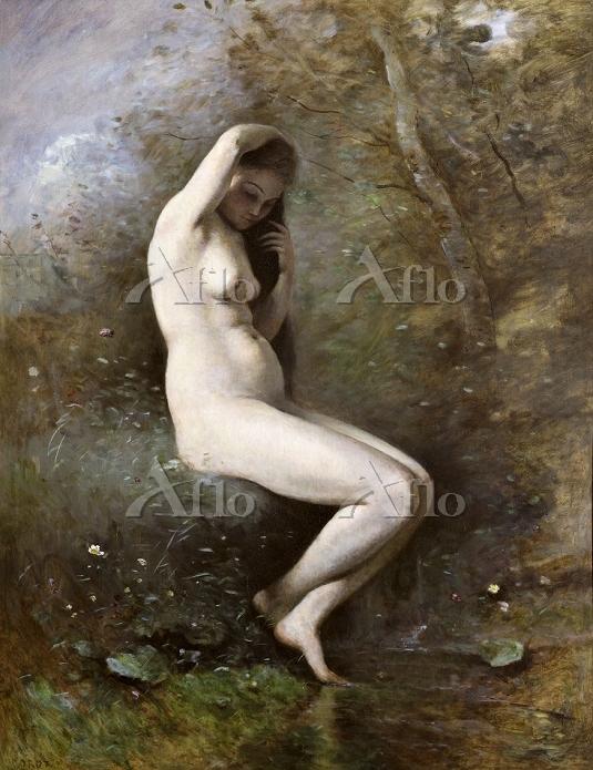 カミーユ・コロー 「沐浴するヴィーナス」