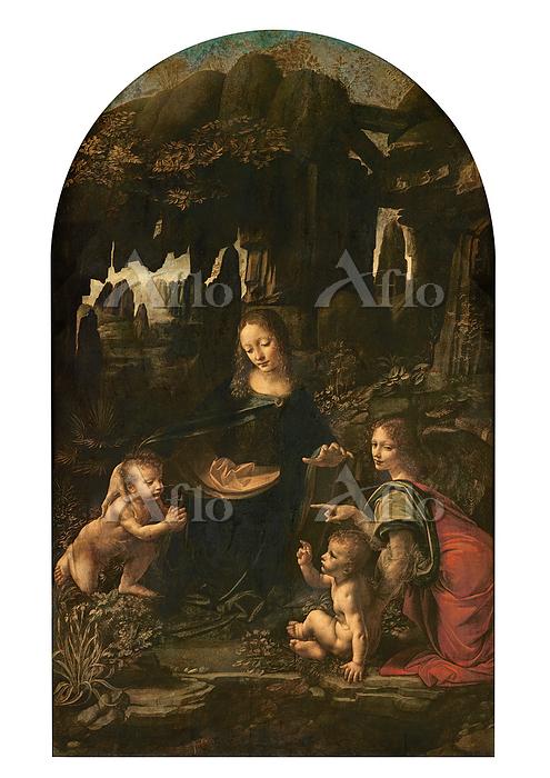 レオナルド・ダ・ヴィンチ 「岩窟の聖母」