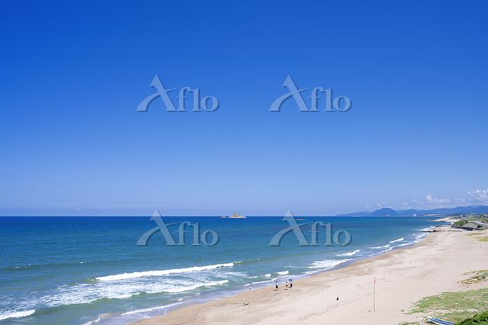 鳥取県 白兎海岸