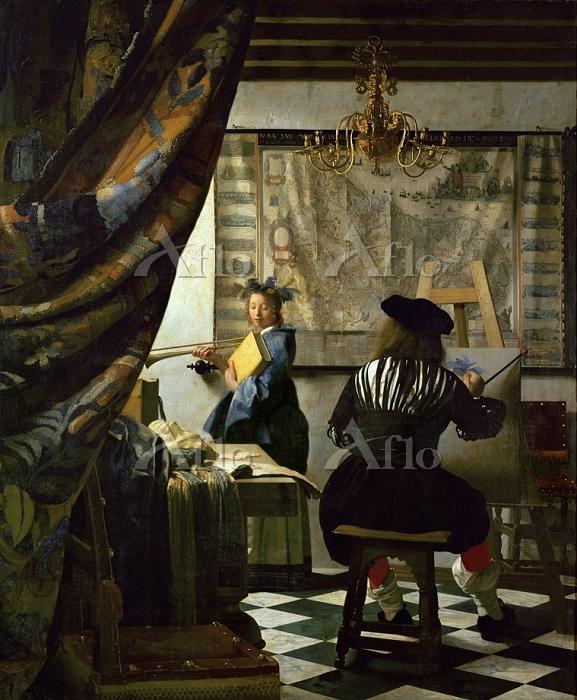 フェルメール 「絵画芸術」