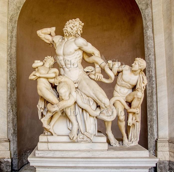 ヴァチカン美術館 ラオコーン像