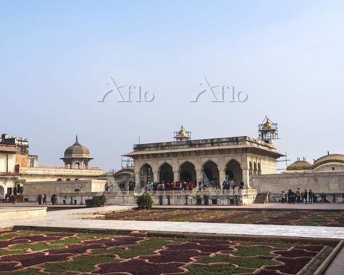 インド アグラ城 アングリ庭園 ムサンマン・ブルジュ
