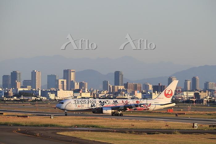 大阪国際空港 JAL 移動 TOKYO2020