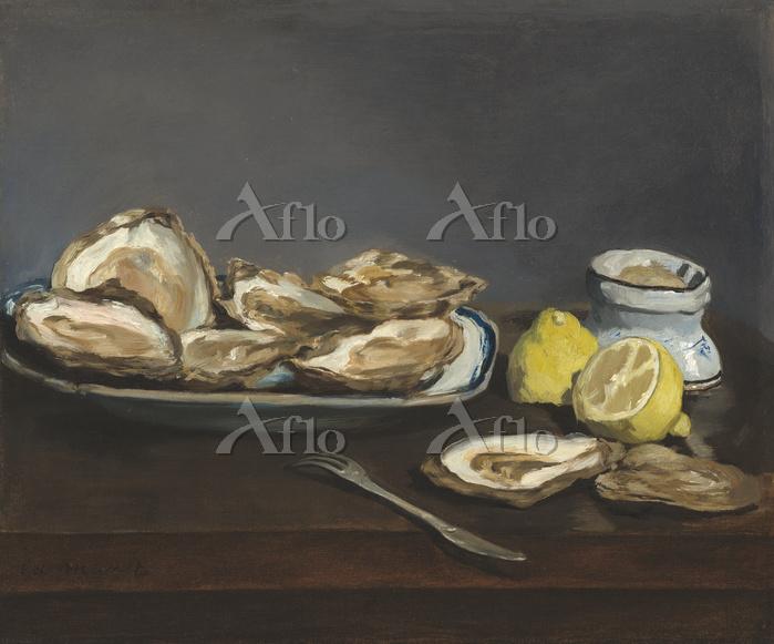 マネ 「牡蠣」