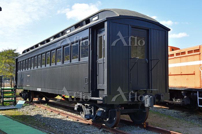 京都府 加悦SL広場のハ10形付随客車
