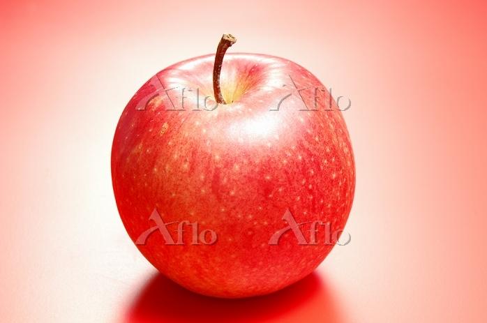 1個のリンゴ(フジリンゴ)
