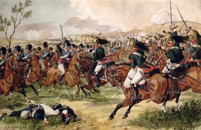 リチャード・シムキン ヴィメイロの戦いで戦う第20軽竜騎兵隊